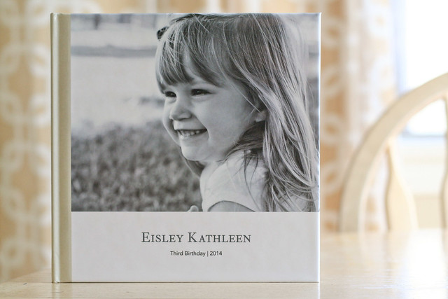 A peek inside my daughter's 3rd birthday album! | yourwishcake.com