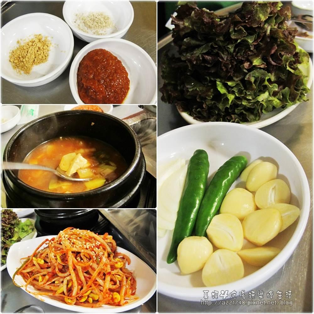 30泡菜烤肉-配菜