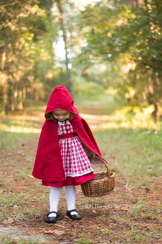 Stitched By Crystal Little Red Riding Hood And A Hooded Cape