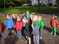 14.10.13 Nijntjes- en Rikkiklas naar het park