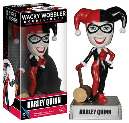 FUNKO WACKY WOBBLER 系列【小丑女】DC UNIVERSE 系列 HARLEY QUINN