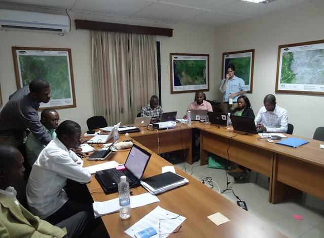 Moabi Training at OSFAC