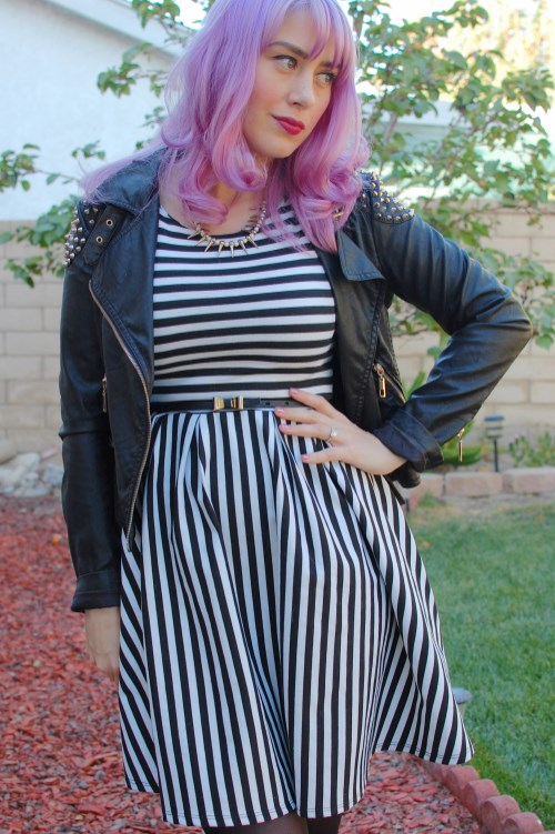 Modcloth striped dress 005