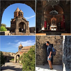 #KhorVirap #Monastery is an #Armenian Apostolic #Church monastery located in the #Ararat valley in #Armenia, near the border with Turkey, about 8 kilometers south of Artashat, Ararat Province. 17th century #architecture. Armenia was the first country in t