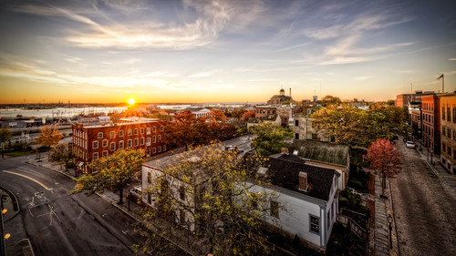autumn history fall sunrise ma unitedstates massachusetts ships newengland historic whaling unionstreet elmstreet historicdistrict newbedford whalingmuseum purchasestreet whalingcity trigphotography frankcgrace