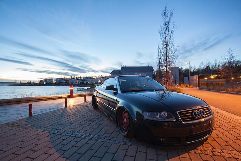 jusni: Audi A4 Bagged Bathtub - Sivu 2 15648155231_6521caee3d_c