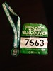 Rock'n'Roll 10 km medal and race bib
