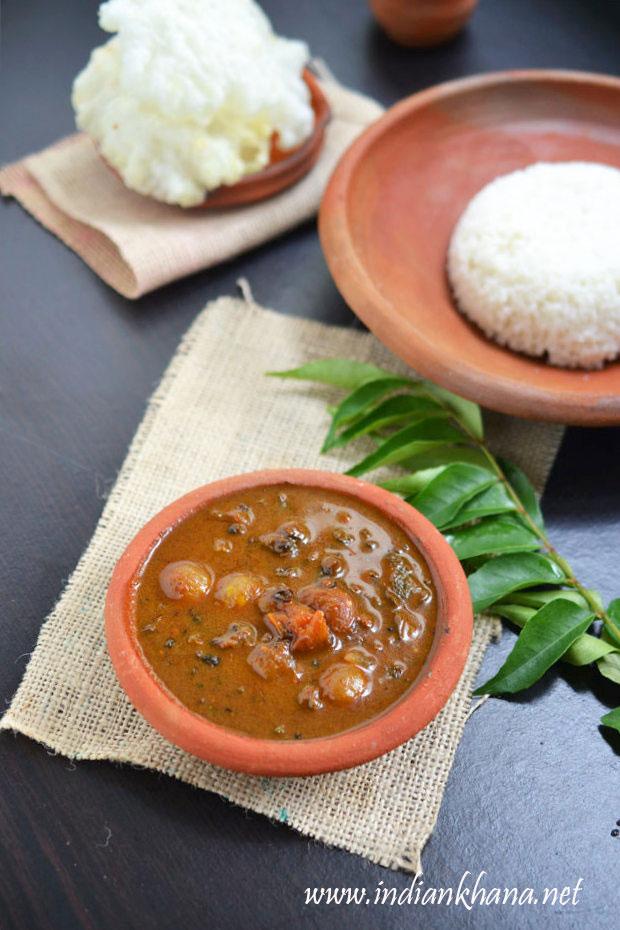 manathakkali-Vatha-kuzhambu-recipe
