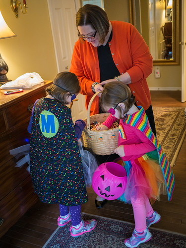 Early trick-or-treating