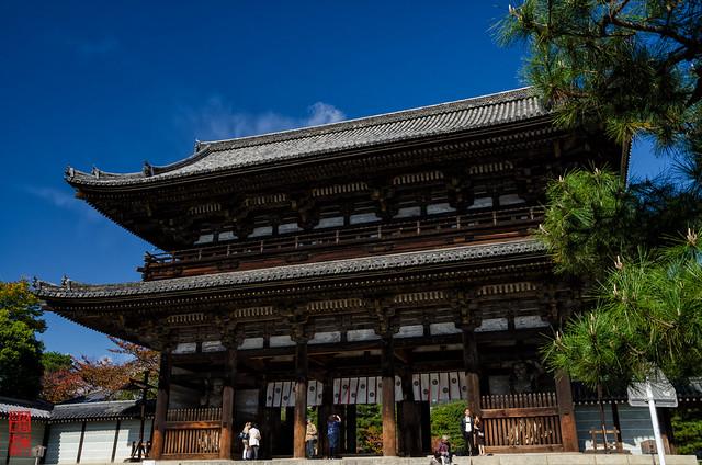 「仁王門」 仁和寺 - 京都