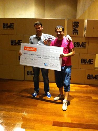 BIME Hack Day 2014 - Sergio y Jorge