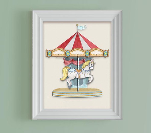 carrousel print boy by babalisme