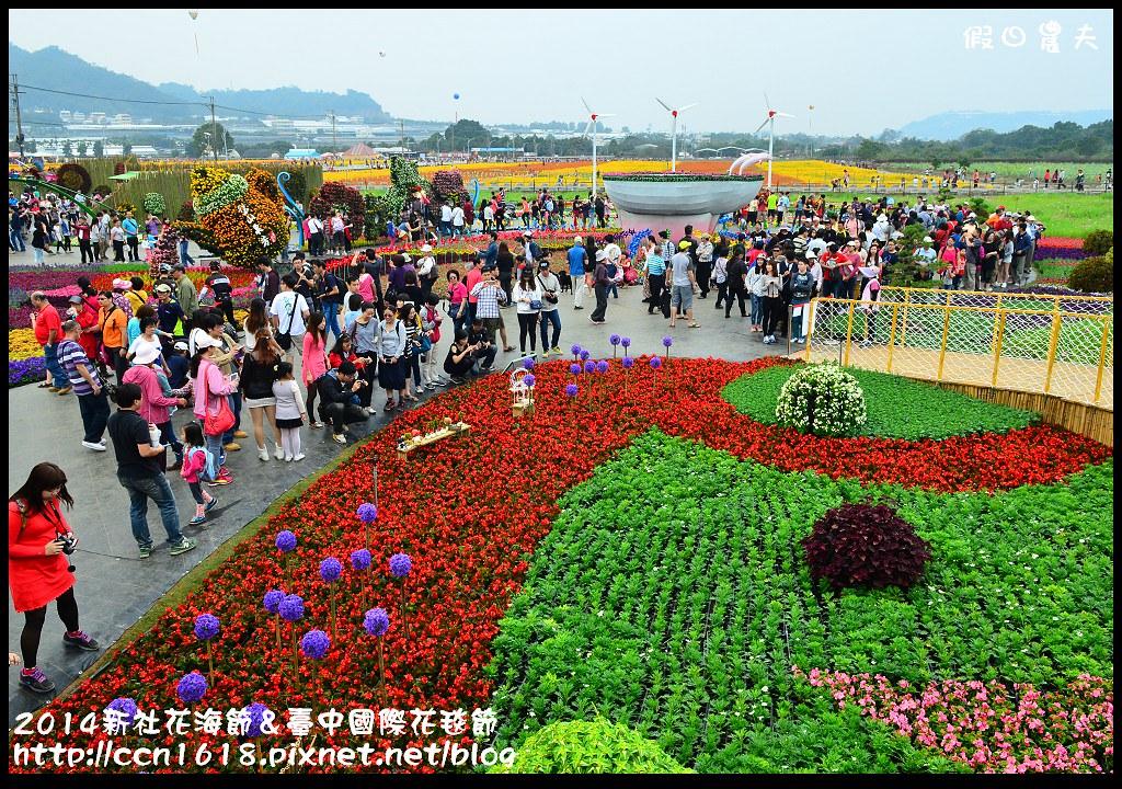 2014新社花海節&臺中國際花毯節DSC_5017