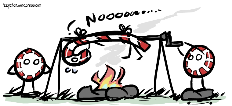 peppermint campfire jerks candy