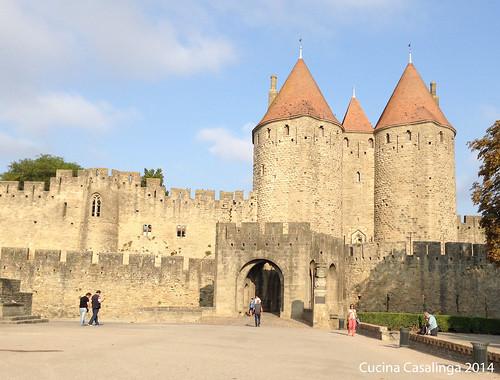 Carcassonne Tor Eingang