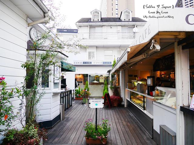 日本東京自由行賞櫻canal cafe水上餐廳 (22)