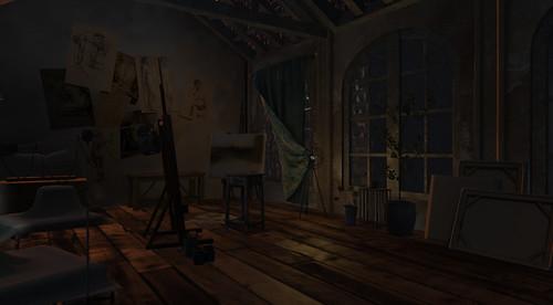 furillen, SL-artist's studio