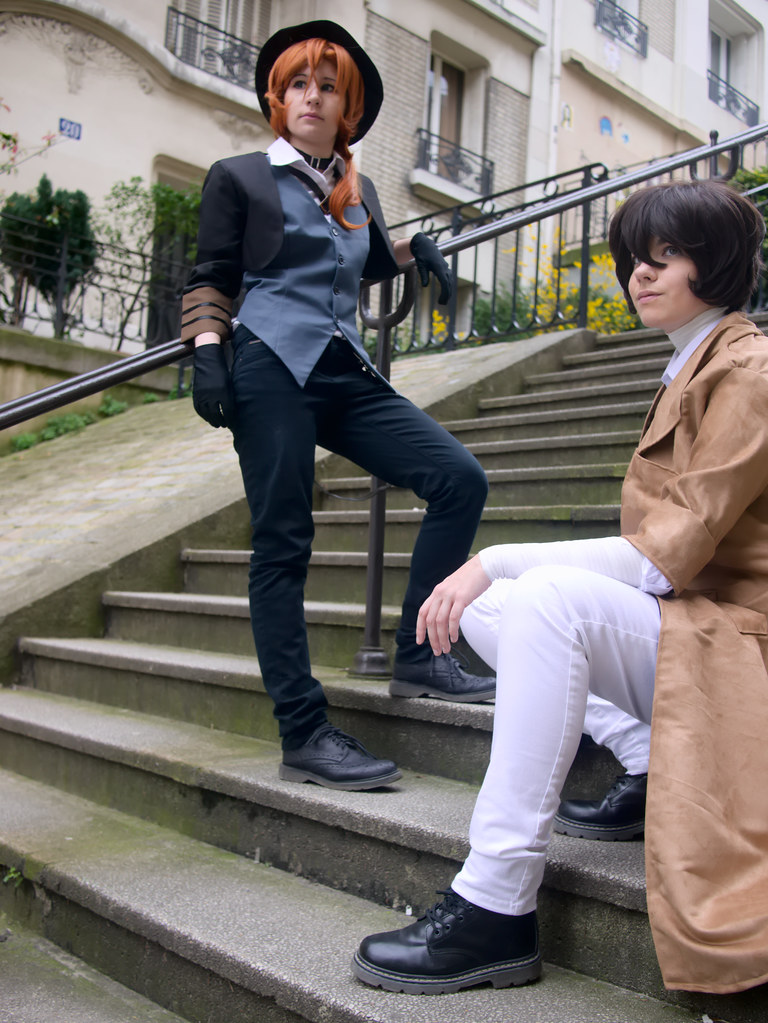 related image - Shooting Bungou Stray Dogs - Paris -2017-03-20- P2020884