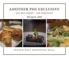 ******Sunday Surprise!***** (help me grow my group - re-share on your profile page as well) EXCLUSIVE to Pune's Hungry Souls' group members - - - - 15% DISCOUNT OFF on anything on the menu at the chic Indigo Deli. My faves: the Belgian Icecream! And their