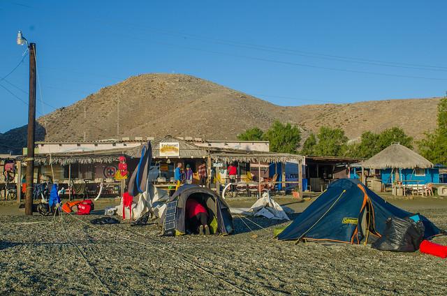 Campamento n6 en Magdalena