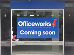 New Officeworks (former Priceline) on Gawler Pl