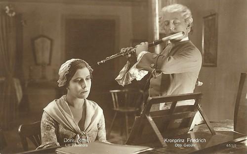 Otto Gebühr and Lili Alexander in Fridericus Rex (1921-1922)