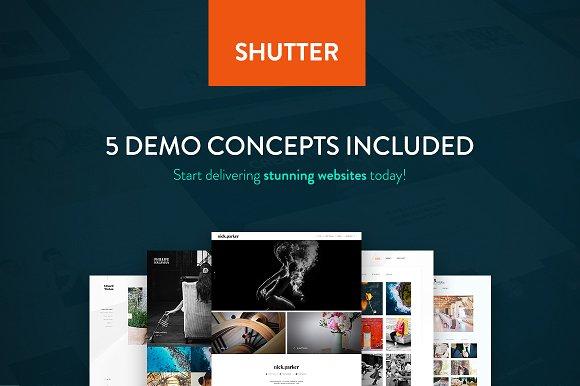 Shutter v1.0 - Photography WP Theme