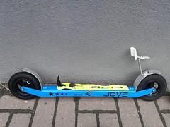 Kolečkové lyže JOVE skate - titulní fotka