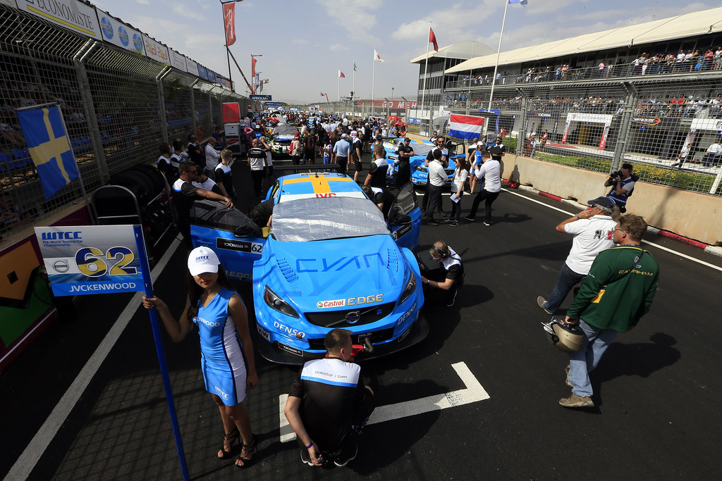 BJORK Thed (swe) Volvo S60 Polestar team Polestar Cyan Racing ambiance portrait during the 2017 FIA WTCC World Touring Car Race of Morocco at Marrakech, from April 7 to 9 - Photo Paulo Maria / DPPI