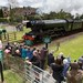 Flying Scotsman running through West Hoathly station site by m1ke_a