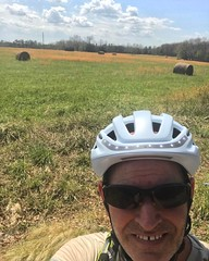Amazing countryside... just an hour from DC. Monet would have had a field day #BikeDC #BikeVA #PotomacPeddlers