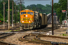 BNSF 8892 | EMD SD70MAC | BNSF Thayer South Subdivision