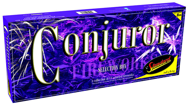 Conjuror Family Selection Box by Standard Fireworks