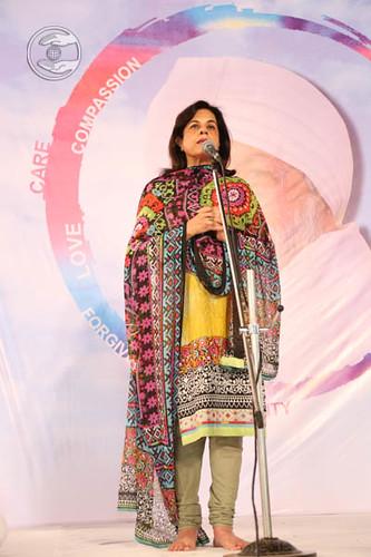 Nishi Bajaj from USA, expresses her views