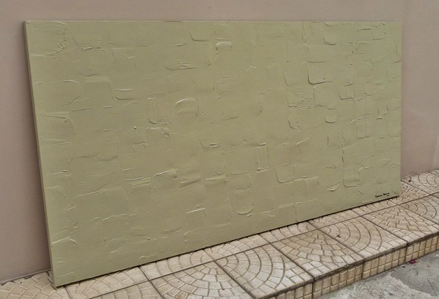 Tela abstrata com textura