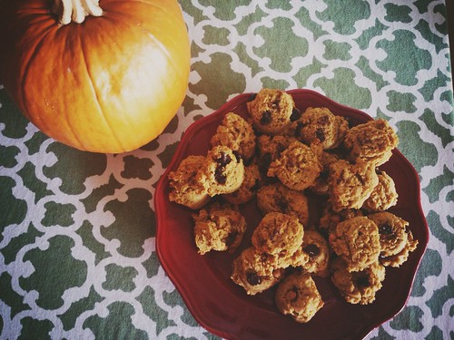 Pumpkin cookies!