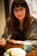 2014-10-17 Portrait in Cafe