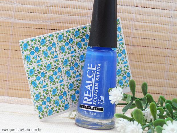 Esmalte It Blue Realce  e pel�cula Esmalte Bonito 1