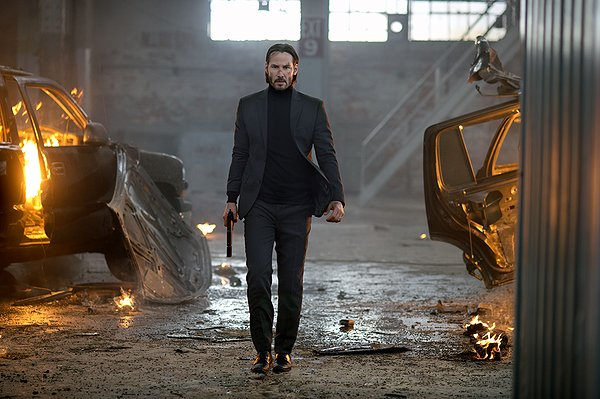 Keanu Reeves is another assassin bent on revenge in JOHN WICK.