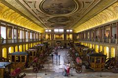 Interior del Museo Nacional dos Coches