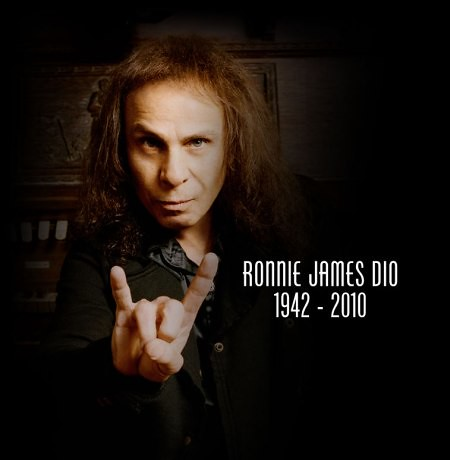 Ronnie James Dio RIP (07/10/42 - 05/16/10)