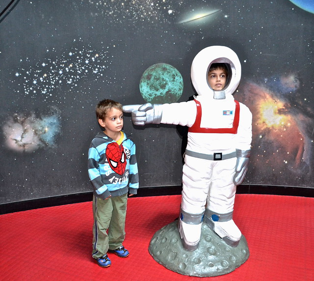 astronauts, el museo de los niños, Guatemala City