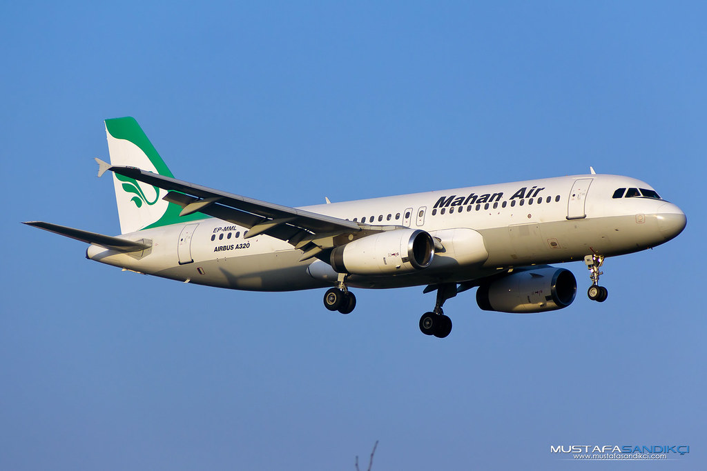 EP-MML Mahan Airlines Airbus A320-231