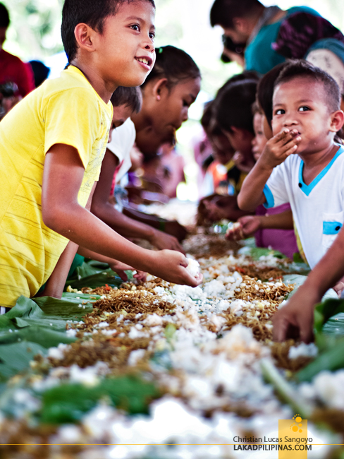Boodle Fight in Patikul, Sulu