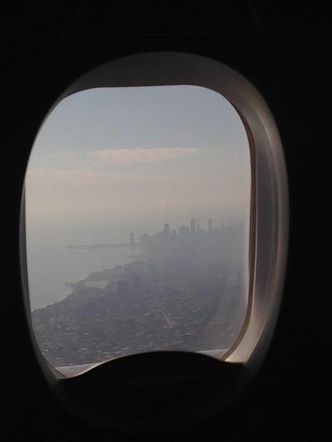 Chicago desde el avión