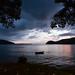 Twilight Golfito bay Costa Rica