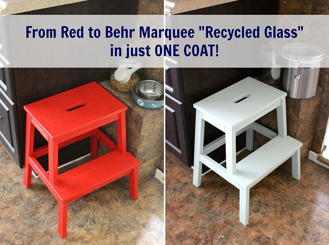 Superb Repainting The Kitchen Stool With Behr Marquee Paint In Just Gmtry Best Dining Table And Chair Ideas Images Gmtryco