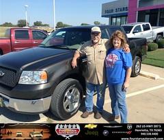 Four Stars Auto Ranch Chevrolet Buick  Chrysler Jeep Dodge Ram SRT Henrietta Texas Customer Reviews Dealer Testimonials - David and Jill Nichols