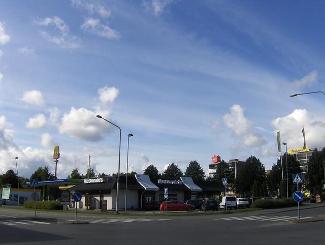 Hämeenlinnan moottoritiekate ja Goodman-kauppakeskus: Työmaan lähtötilanne 4.9.2011 - kuva 16