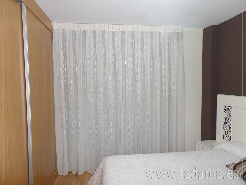 Flickr photos tagged ladamadecoracion picssr for Cortinas para dormitorio